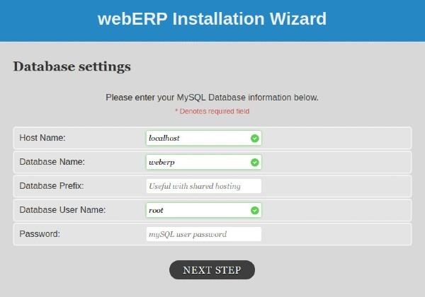 Phần mềm miễn phí WebERP