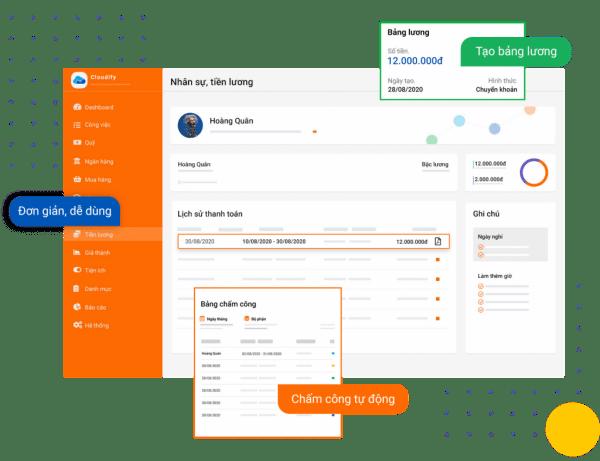 Phần mềm tính lương Cloudify