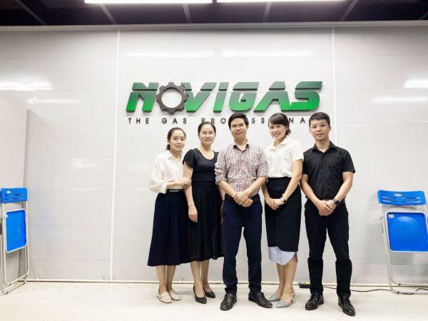 Cloudify chuyển giao công nghệ cho công ty TNHH Novigas